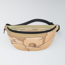 Beached Labyrinth Fanny Pack