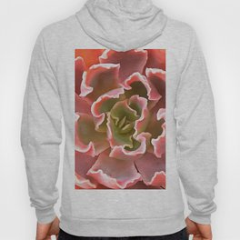 Living Coral Succulent Hoody