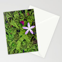 Floral Fantasy 4 Stationery Cards