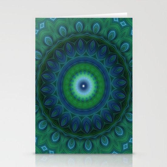 Mandala 11 Stationery Cards