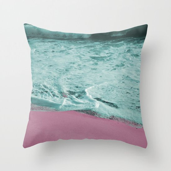 Pop Art High Tide Throw Pillow