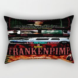 Frankenpimp (2009 ) - 'Original Worldwide Movie Poster' Rectangular Pillow