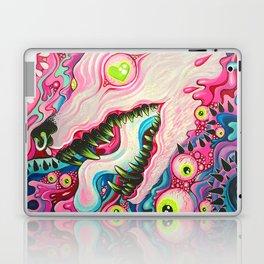 Glitterwolf Acrylic Painting Laptop & iPad Skin