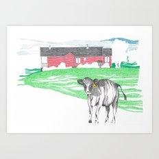 Campo Art Print