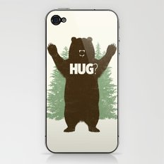 Bear Hug? iPhone & iPod Skin