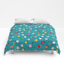 wilderdot blue Comforters