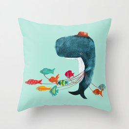 My Pet Fish Throw Pillow