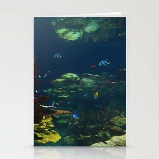 In  the Aquarium Stationery Cards