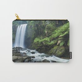 Rainforest waterfalls, Hopetoun Falls, Great Otway NP, Victoria, Australia Carry-All Pouch