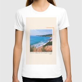 You Are Free To Challenge Yourself While Also Being Gentle With Yourself. T-shirt