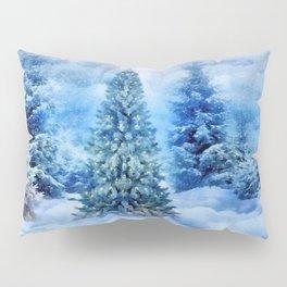 Christmas tree scene Pillow Sham