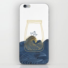 Bottled Sea iPhone Skin
