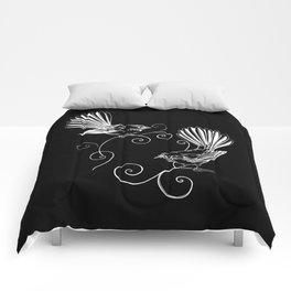 White Fantails  Comforters