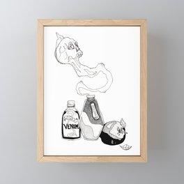 Poison Apple Framed Mini Art Print
