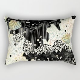 Into the Unknown... Rectangular Pillow