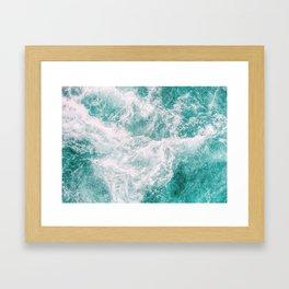 Whitewater 3 Framed Art Print