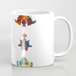 Collection of Rorschach inkblot tests Coffee Mug