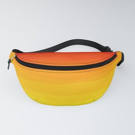 Red to Yellow Sunset Fanny Pack