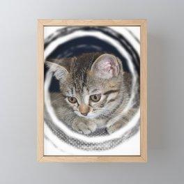 little Emma Framed Mini Art Print