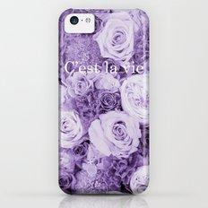 Bouquet*C'est la vie iPhone 5c Slim Case