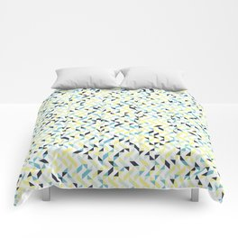 Lemon and Ink Comforters
