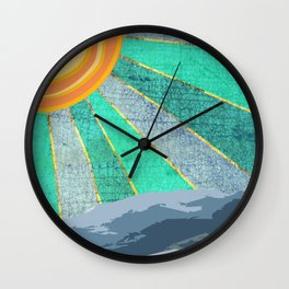 The Hills Are Alive  Wall Clock