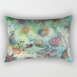 sea garden Rectangular Pillow