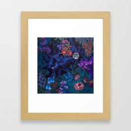 Space Garden Cosmos Framed Art Print