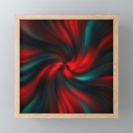 Abstract Fractal Background 3 Framed Mini Art Print