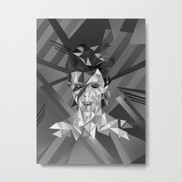 Dreaming David (Black and White) Metal Print