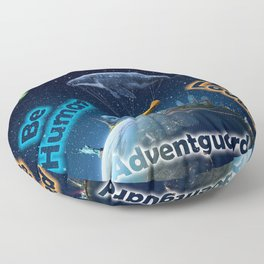 Advent Guard Earth Tranquil Whale Aspect Floor Pillow