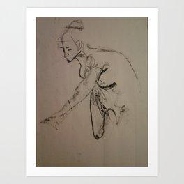Figure Drawing Art Print