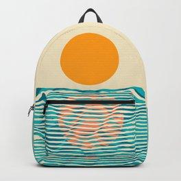 Ocean current Backpack