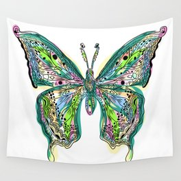 Fly Butterfly Wall Tapestry