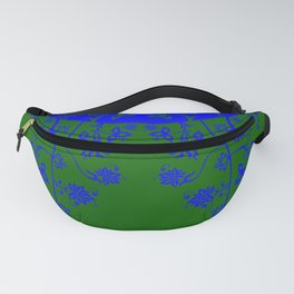 floral ornaments pattern vom150 Fanny Pack