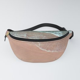 contrasting waves 2 Fanny Pack