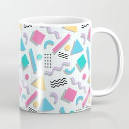 Memphis Shapes Coffee Mug
