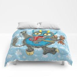 Merry Krampus! Comforters