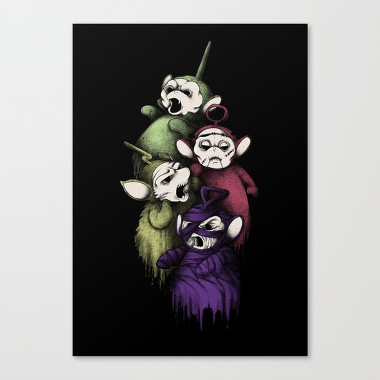 SCARYTUBBIES Canvas Print
