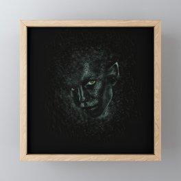 ELFIN BEAUTY Framed Mini Art Print