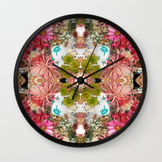 Garden Party Wall Clock