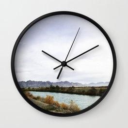 Desert Day Wall Clock