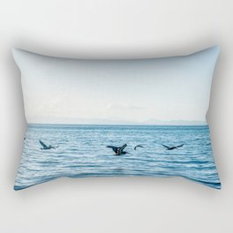 Flying Flock Rectangular Pillow