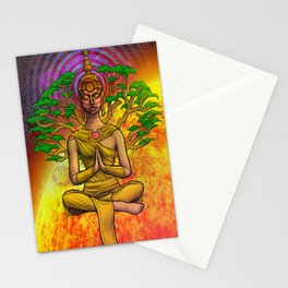 Psychedelic Buddha Stationery Cards