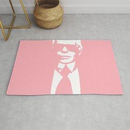 Karl Lagerfeld in Pink Rug
