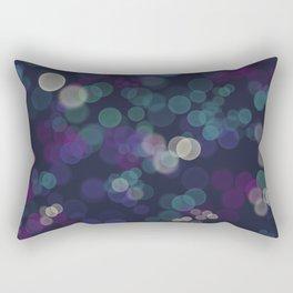 Bokeh lights Rectangular Pillow