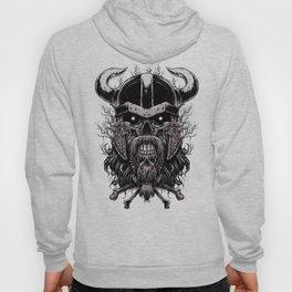 Viking Skull | Warrior Odin Illustration Hoody