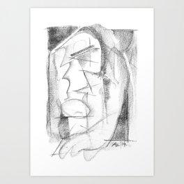 Memories - b&w Art Print