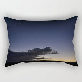 Crescent moon Rectangular Pillow