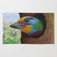 Beautiful Bird Rug
